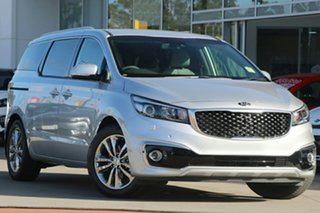 2018 Kia Carnival YP MY18 Platinum Silky Silver 6 Speed Sports Automatic Wagon.