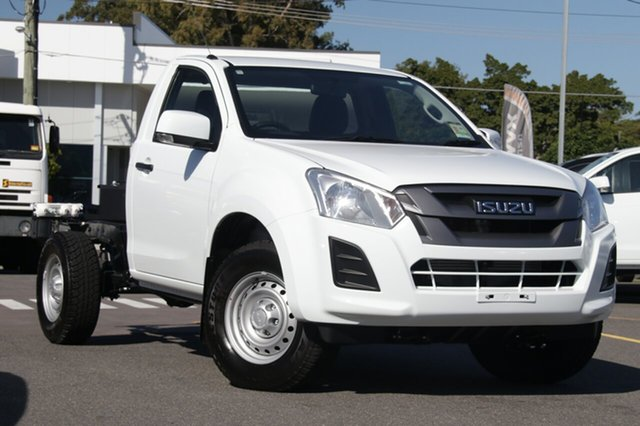 New Isuzu D-MAX MY19 SX 4x2 High Ride, 2019 Isuzu D-MAX MY19 SX 4x2 High Ride Splash White 6 Speed Sports Automatic Cab Chassis