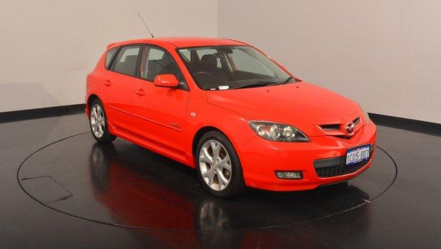 Used Mazda 3 BK1032 SP23, 2008 Mazda 3 BK1032 SP23 Red 6 Speed Manual Hatchback