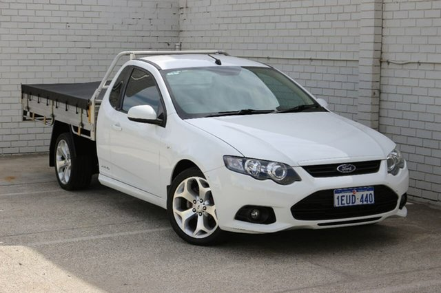 Used Ford Falcon FG MkII XR6 Super Cab EcoLPi, 2012 Ford Falcon FG MkII XR6 Super Cab EcoLPi White 6 Speed Sports Automatic Cab Chassis