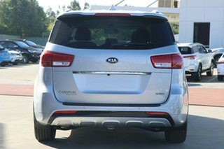 2018 Kia Carnival YP MY18 Platinum Silky Silver 6 Speed Sports Automatic Wagon