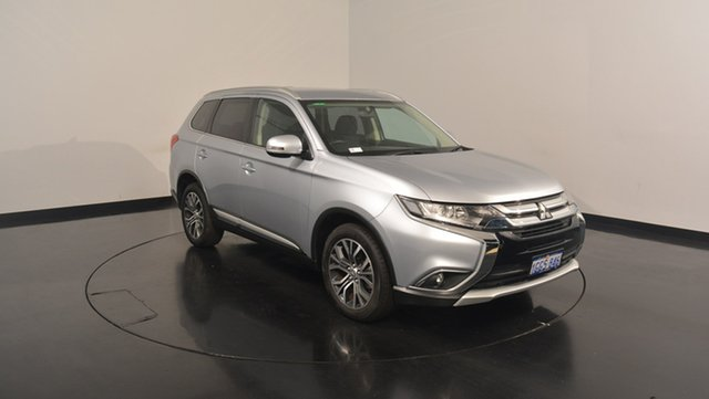 Used Mitsubishi Outlander ZK MY17 LS 2WD, 2017 Mitsubishi Outlander ZK MY17 LS 2WD Cool Silver 6 Speed Constant Variable Wagon