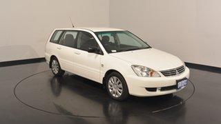 2007 Mitsubishi Lancer CH MY07 ES White 4 Speed Sports Automatic Wagon