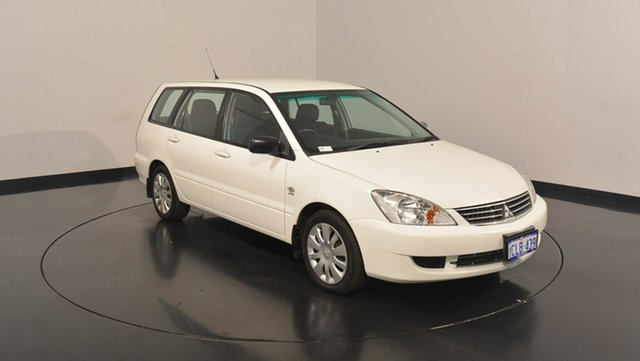 Used Mitsubishi Lancer CH MY07 ES, 2007 Mitsubishi Lancer CH MY07 ES White 4 Speed Sports Automatic Wagon
