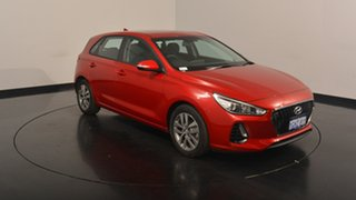 2017 Hyundai i30 PD MY18 Active Fiery Red 6 Speed Sports Automatic Hatchback.
