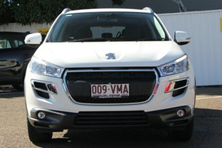 2014 Peugeot 4008 MY15 Active 2WD White 6 Speed Constant Variable Wagon