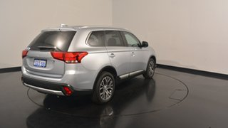 2017 Mitsubishi Outlander ZK MY17 LS 2WD Cool Silver 6 Speed Constant Variable Wagon