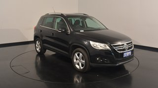 2009 Volkswagen Tiguan 5N MY09 147TSI 4MOTION Black 6 Speed Sports Automatic Wagon