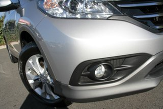 2012 Honda CR-V RM VTi-S 4WD Alabaster Silver 5 Speed Automatic Wagon.