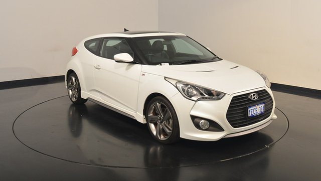 Used Hyundai Veloster FS2 SR Coupe Turbo, 2012 Hyundai Veloster FS2 SR Coupe Turbo Storm Trooper 6 Speed Sports Automatic Hatchback