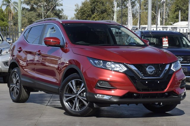 New Nissan Qashqai MY20 ST-L Castle Hill, 2020 Nissan Qashqai MY20 ST-L Magnetic Red Continuous Variable Wagon