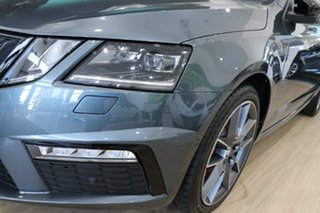 2020 Skoda Octavia NE MY20.5 RS DSG 245 Quartz Grey 7 Speed Sports Automatic Dual Clutch Wagon.