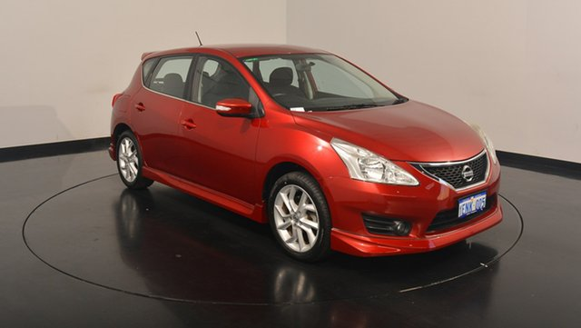 Used Nissan Pulsar C12 ST-S, 2014 Nissan Pulsar C12 ST-S Red 6 Speed Manual Hatchback
