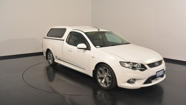 Used Ford Falcon FG XR6 Ute Super Cab 50th Anniversary, 2010 Ford Falcon FG XR6 Ute Super Cab 50th Anniversary White 6 Speed Sports Automatic Utility