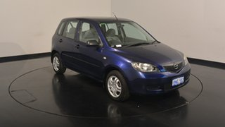 2002 Mazda 2 DY10Y1 Neo Blue 4 Speed Automatic Hatchback.