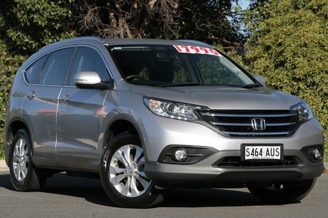 Used Honda CR-V RM VTi-S 4WD, 2012 Honda CR-V RM VTi-S 4WD Alabaster Silver 5 Speed Automatic Wagon