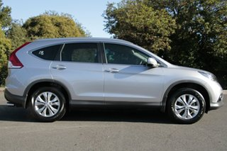2012 Honda CR-V RM VTi-S 4WD Alabaster Silver 5 Speed Automatic Wagon