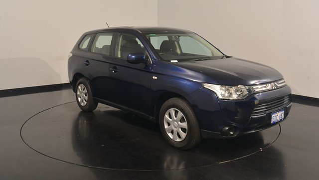 Used Mitsubishi Outlander ZJ MY13 ES 4WD, 2013 Mitsubishi Outlander ZJ MY13 ES 4WD Blue 6 Speed Constant Variable Wagon