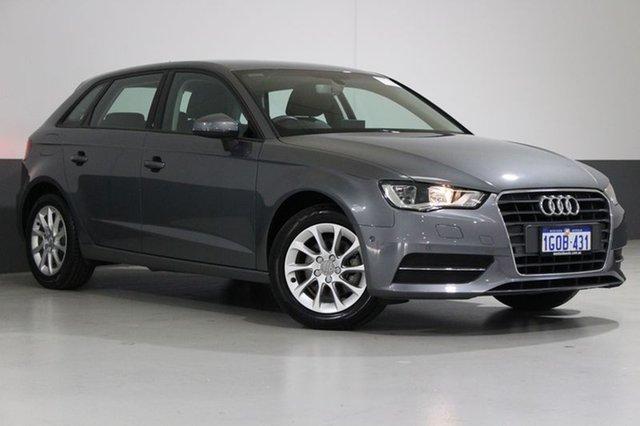 Used Audi A3 8V MY16 Sportback 1.4 TFSI Attraction, 2016 Audi A3 8V MY16 Sportback 1.4 TFSI Attraction Grey 7 Speed Auto Direct Shift Hatchback