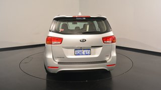 2017 Kia Carnival YP MY17 S Silky Silver 6 Speed Sports Automatic Wagon