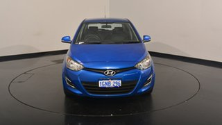 2014 Hyundai i20 PB MY15 Active Blue Onyx 6 Speed Manual Hatchback