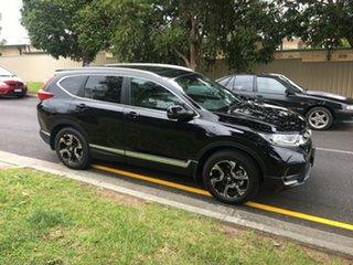 2017 Honda CR-V RW MY18 VTi-LX 4WD Crystal Black 1 Speed Constant Variable Wagon.