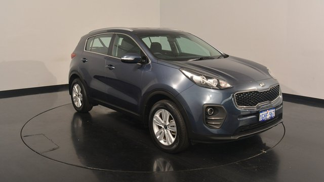 Used Kia Sportage QL MY17 Si 2WD, 2017 Kia Sportage QL MY17 Si 2WD Mercury Blue 6 Speed Sports Automatic Wagon