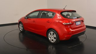 2017 Kia Cerato YD MY18 S Temptation Red 6 Speed Sports Automatic Hatchback.