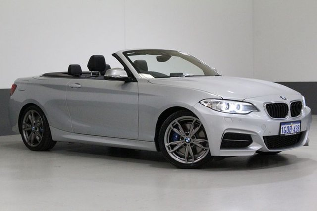 Used BMW 228I F23 MY17 M Sport, 2017 BMW 228I F23 MY17 M Sport Silver 8 Speed Automatic Convertible