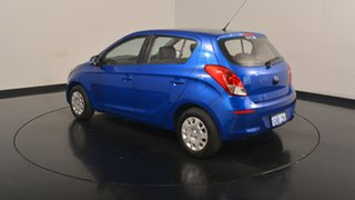 2014 Hyundai i20 PB MY15 Active Blue Onyx 6 Speed Manual Hatchback.