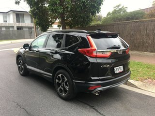 2017 Honda CR-V RW MY18 VTi-LX 4WD Crystal Black 1 Speed Constant Variable Wagon