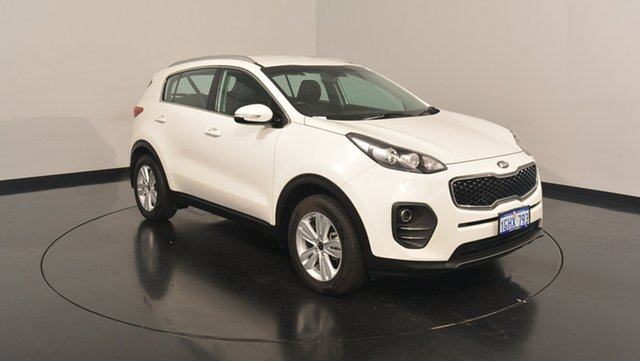Used Kia Sportage QL MY17 Si 2WD, 2017 Kia Sportage QL MY17 Si 2WD Clear White 6 Speed Sports Automatic Wagon