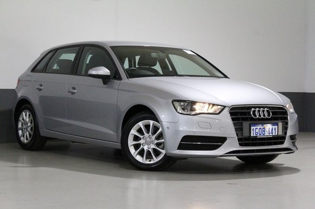 Used Audi A3 8V MY16 Sportback 1.4 TFSI Attraction, 2016 Audi A3 8V MY16 Sportback 1.4 TFSI Attraction Silver 7 Speed Auto Direct Shift Hatchback