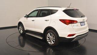 2016 Hyundai Santa Fe DM3 MY16 Elite Creamy White 6 Speed Sports Automatic Wagon.