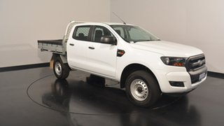 2017 Ford Ranger PX MkII XL Double Cab 4x2 Hi-Rider Frozen White 6 Speed Sports Automatic