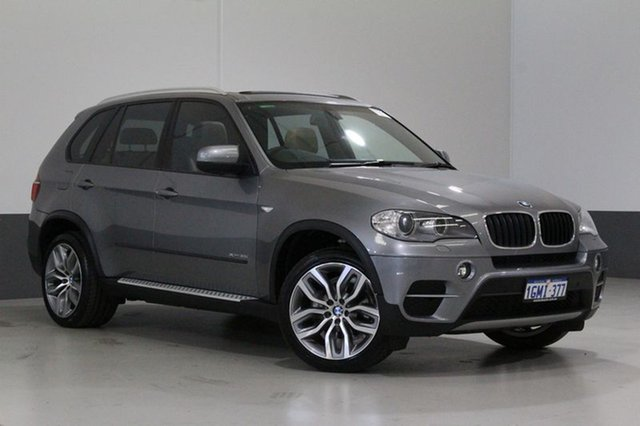 Used BMW X5 E70 MY12 Upgrade xDrive 35I, 2013 BMW X5 E70 MY12 Upgrade xDrive 35I Space Grey 8 Speed Automatic Sequential Wagon
