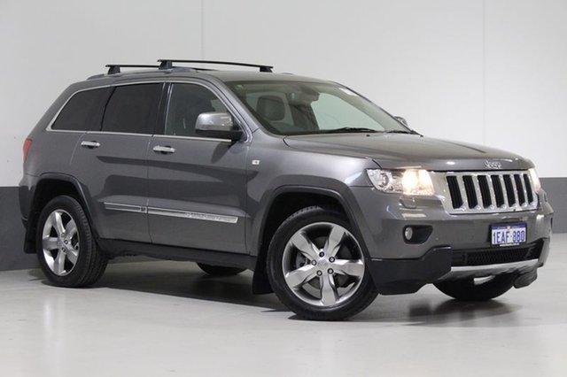 Used Jeep Grand Cherokee WK MY12 Limited (4x4), 2012 Jeep Grand Cherokee WK MY12 Limited (4x4) Grey 5 Speed Automatic Wagon