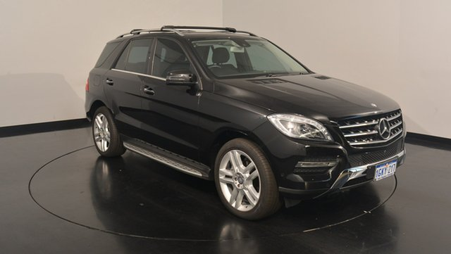 Used Mercedes-Benz ML250 W166 BlueTEC 7G-Tronic +, 2014 Mercedes-Benz ML250 W166 BlueTEC 7G-Tronic + Black 7 Speed Sports Automatic Wagon