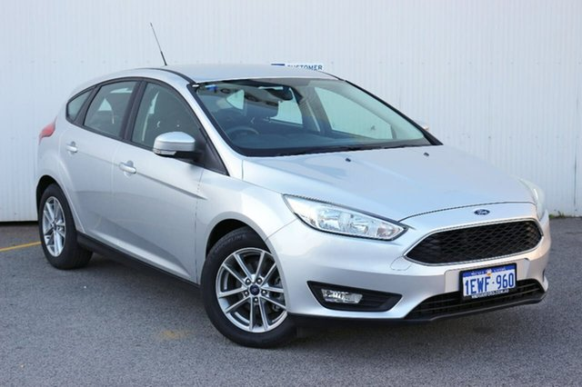 Used Ford Focus LZ Trend, 2015 Ford Focus LZ Trend Silver 6 Speed Automatic Hatchback