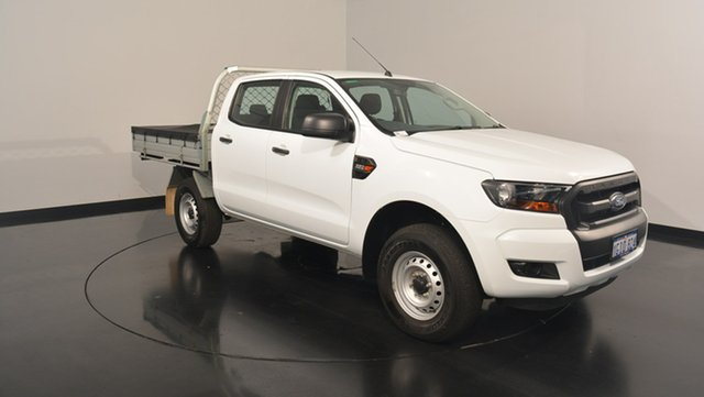 Used Ford Ranger PX MkII XL Double Cab 4x2 Hi-Rider, 2017 Ford Ranger PX MkII XL Double Cab 4x2 Hi-Rider Frozen White 6 Speed Sports Automatic
