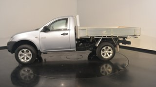 2015 Mitsubishi Triton MN MY15 GL Silver 5 Speed Manual Cab Chassis.