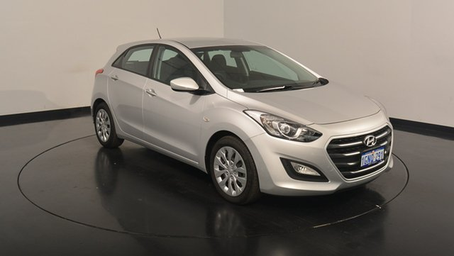 Used Hyundai i30 GD4 Series II MY17 Active, 2017 Hyundai i30 GD4 Series II MY17 Active Platinum Silver 6 Speed Sports Automatic Hatchback
