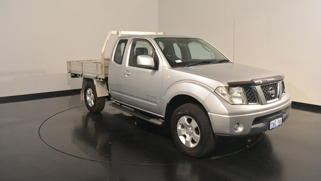 Used Nissan Navara D40 S6 MY12 ST-X King Cab, 2012 Nissan Navara D40 S6 MY12 ST-X King Cab Silver 6 Speed Manual Cab Chassis