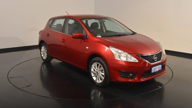 Used Nissan Pulsar C12 Series 2 ST, 2016 Nissan Pulsar C12 Series 2 ST Red 1 Speed Constant Variable Hatchback