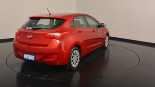 2017 Hyundai i30 GD4 Series II MY17 Active Fiery Red 6 Speed Sports Automatic Hatchback