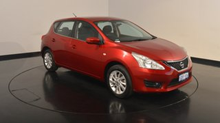2016 Nissan Pulsar C12 Series 2 ST Red 1 Speed Constant Variable Hatchback
