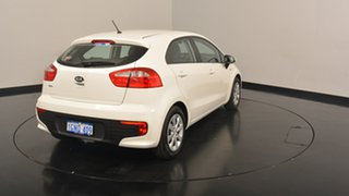 2016 Kia Rio UB MY16 S White 4 Speed Sports Automatic Hatchback