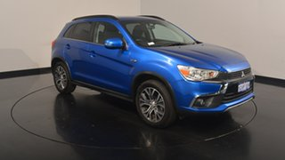 2017 Mitsubishi ASX XC MY17 LS 2WD Lightning Blue 6 Speed Constant Variable Wagon