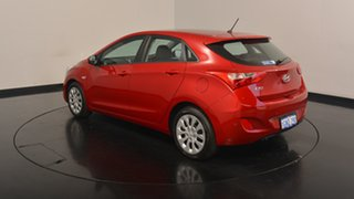 2017 Hyundai i30 GD4 Series II MY17 Active Fiery Red 6 Speed Sports Automatic Hatchback.