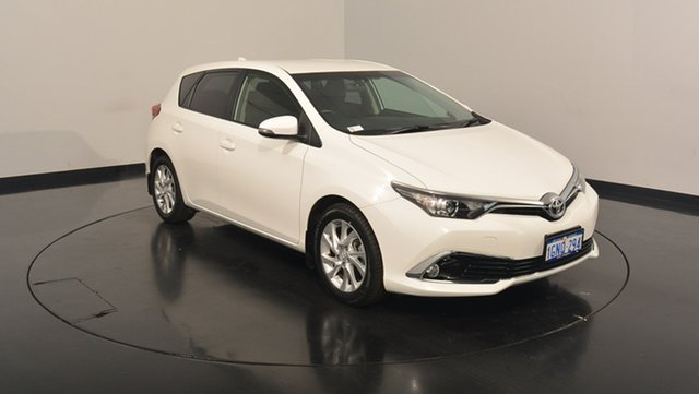 Used Toyota Corolla ZRE182R Ascent Sport S-CVT, 2016 Toyota Corolla ZRE182R Ascent Sport S-CVT White 7 Speed Constant Variable Hatchback